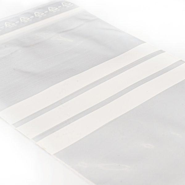 Food grade resealable zipper bag