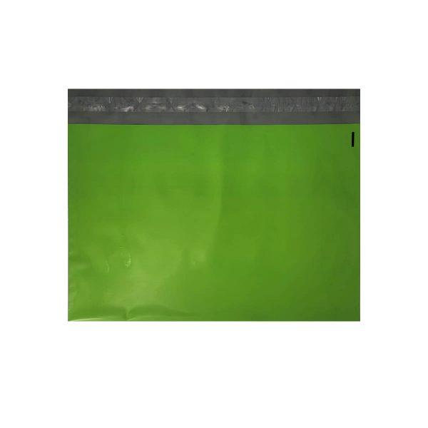 Tough green poly mailer