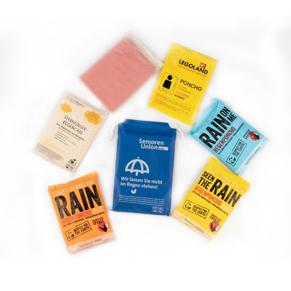 OK Compost rain poncho's! Not just your average biodegradables