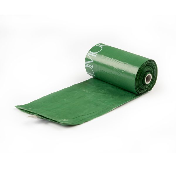 Poop bags available in roll with core for dispencers