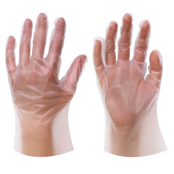Soft transparent TPE gloves